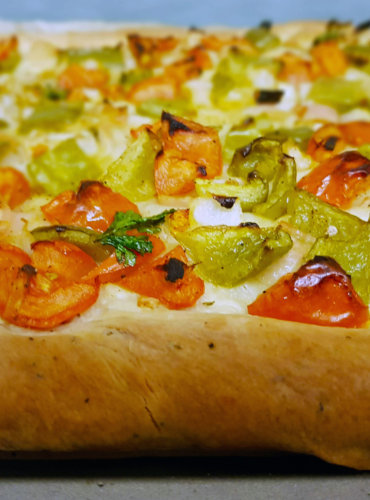 Coco De Trampo; Mallorca Vegetable Flatbread Recipe